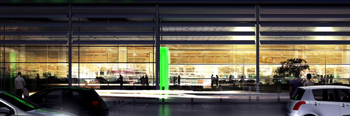 ASDA supermarket concept visualisation