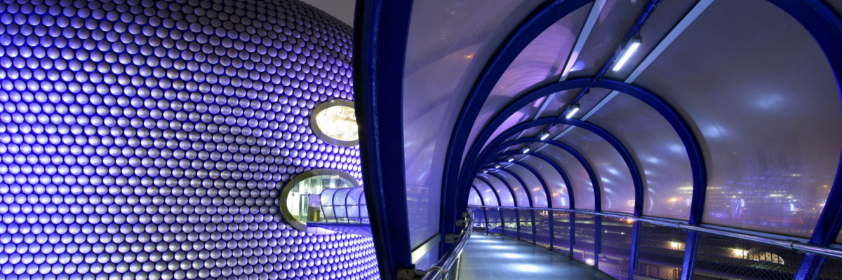 Bullring Birmingham Selfridges' tunnel